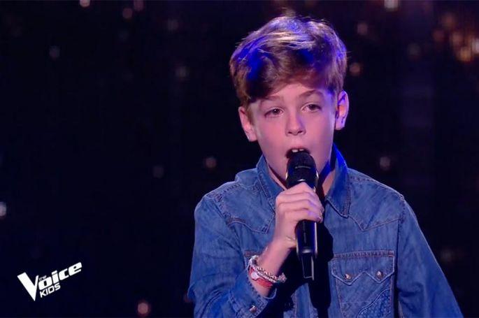 """Replay """"The Voice Kids"""" : Arnaud chante « Tous les cris les SOS » de Daniel Balavoine (vidéo)"""
