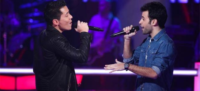 "Vidéo Replay ""The Voice"" : regardez la Battle entre Jo Soul et Anthony Touma"