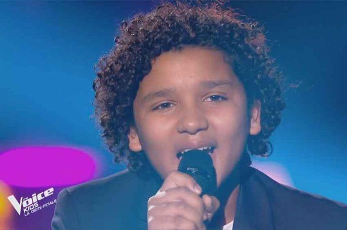 """Replay """"The Voice Kids"""" : Ghali chante « Je m'en vais » de Vianney (vidéo)"""