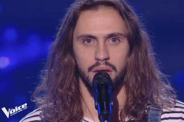 """Replay """"The Voice"""" : Clément chante « Fils à papa » de Vianney (vidéo)"""