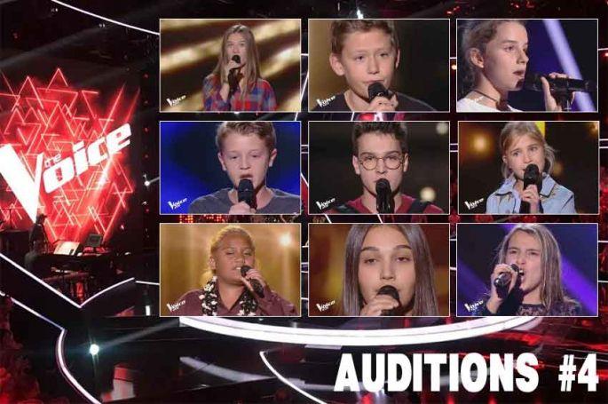 """Replay """"The Voice Kids"""" vendredi 20 septembre : les 12 derniers talents sélectionnés (vidéo)"""