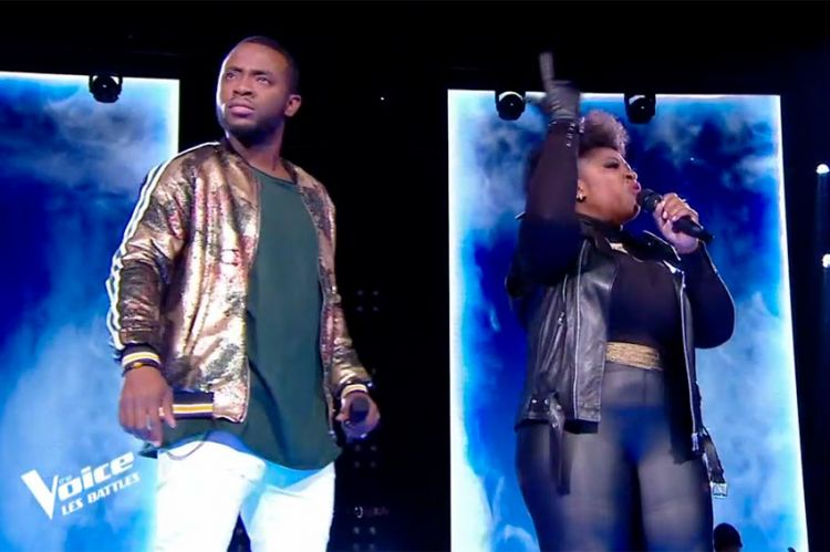 "Replay ""The Voice"" : Verushka & Samson chantent « Que je t'aime » de Johnny Hallyday (vidéo)"