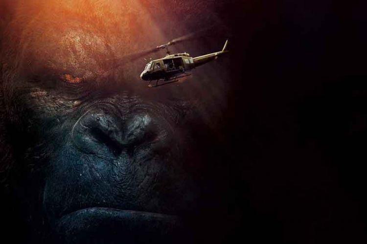 """Inédit : le film """"Kong : Skull Island"""" sur TF1 dimanche 13 octobre à 21:05."""