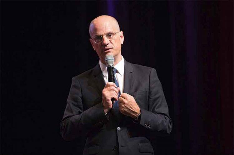 Jean-Michel Blanquer, invité du JT de 13H de TF1 ce vendredi 27 mars