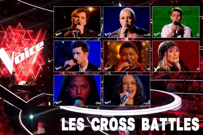 """Replay """"The Voice"""" samedi 1er mai : voici les 15 Cross Battles de la soirée (vidéo)"""