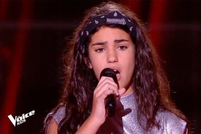 "Replay ""The Voice Kids"" : Eva chante « Tears dry on their own » d'Amy Winehouse (vidéo)"