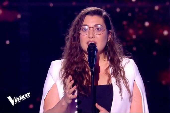 """Replay """"The Voice"""" : Laure chante « Je m'appelle Bagdad » de Tina Arena (vidéo)"""