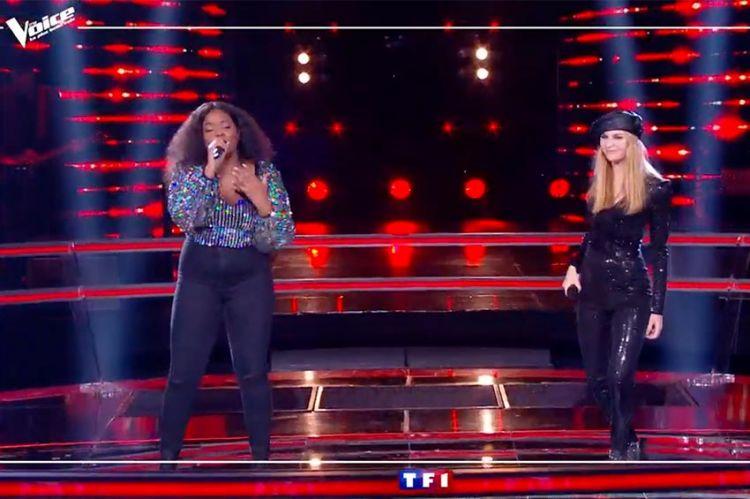 """""""The Voice"""" : TF1 dévoile la Battle Toni & Isilde sur « Toute la musique que j'aime » de Johnny Hallyday (vidéo)"""