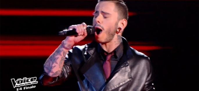 "Replay ""The Voice"" : Maximilien Philippe chante « The Show Must Go On » de Queen (vidéo)"