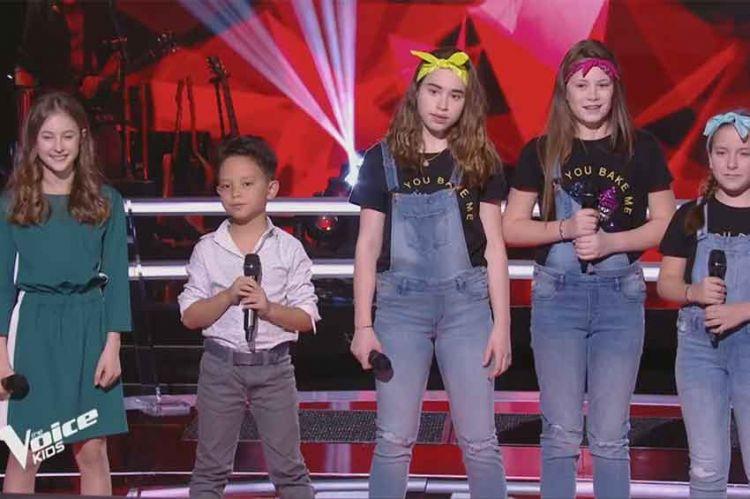 """Replay """"The Voice Kids"""" :  Mini Div, Natihei & Léna « Un, deux, trois » de Fredericks Goldman Jones (vidéo)"""