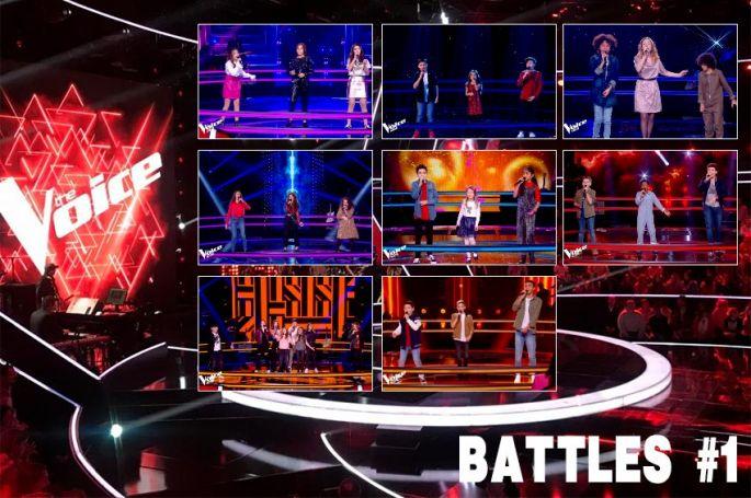 """Replay """"The Voice Kids"""" samedi 19 septembre : voici les 8 Battles de la soirée (vidéo)"""