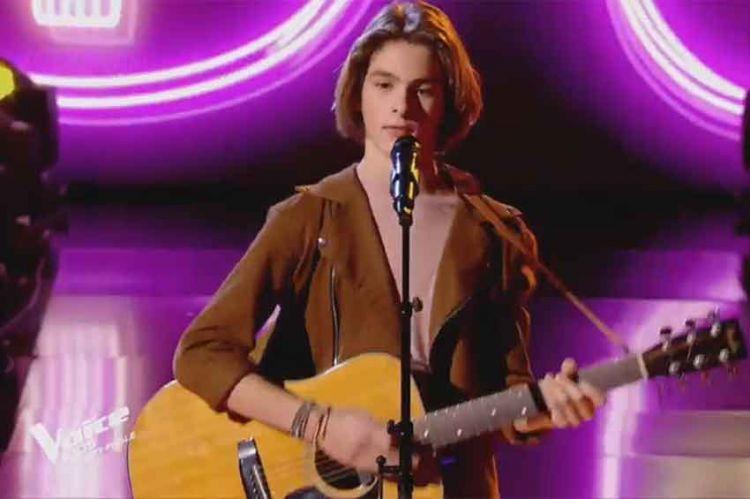 """Revoir """"The Voice Kids"""" : Hindy chante « Qui de nous deux » de M en demi-finale (vidéo)"""