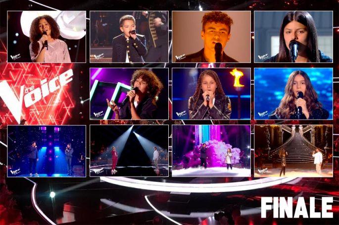 "Replay ""The Voice Kids"" samedi 10 octobre : les 12 prestations de la finale  (vidéo)"