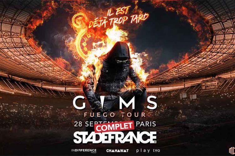 « Fuego Tour » : le concert de Gims au Stade de France diffusé sur TMC mardi 5 novembre