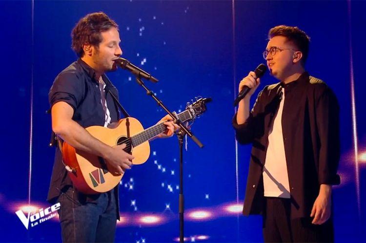 """Replay """"The Voice"""" : Antoine Delie & Vianney chantent « Je m'en vais » en finale (vidéo)"""