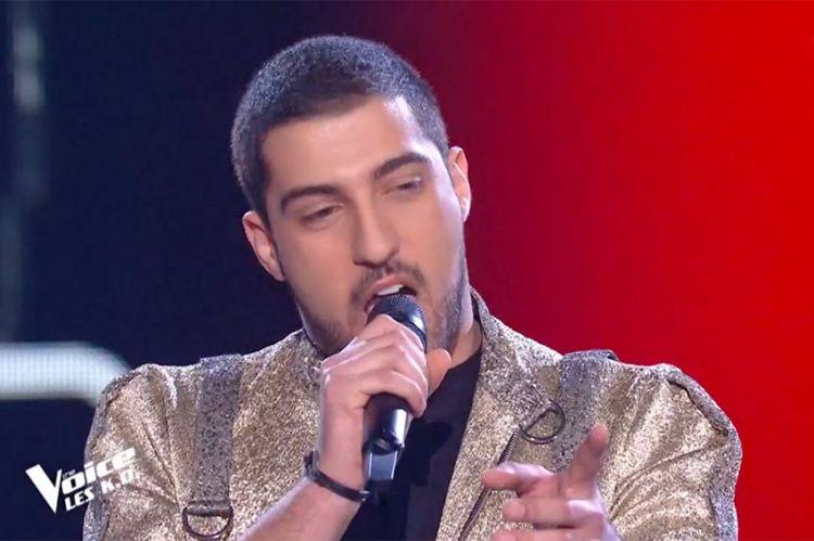"""Replay """"The Voice"""" : Enzo S chante « Il suffira d'un signe » de Jean-Jacques Goldman (vidéo)"""