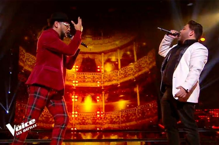 """Replay """"The Voice"""" : Jaja & Julien chantent « Le blues du businessman » de Daniel Balavoine (vidéo)"""