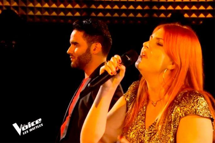 """""""The Voice"""" : TF1 dévoile la Battle Sarah Schwab & Fayz sur  « Desert Rose » de Sting et Cheb Mami (vidéo)"""