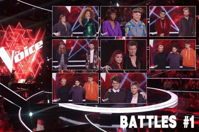 """Replay """"The Voice"""" samedi 4 mai : voici les 8 battles de la soirée (vidéo)"""