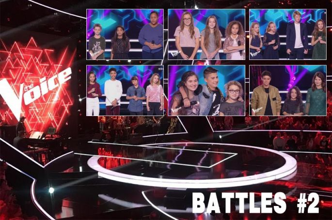 """Revoir """"The Voice Kids"""" : les 6 dernières battles du vendredi 23 novembre sur TF1 (vidéo)"""