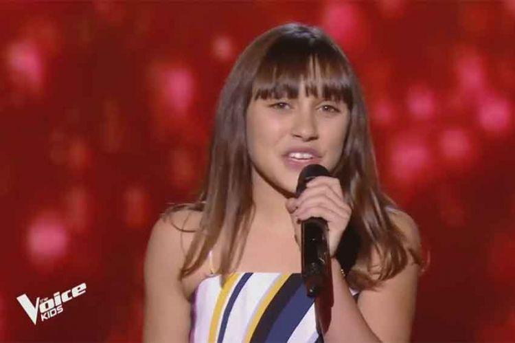 "Replay ""The Voice Kids"" : Fanchon chante « Girl on fire » d'Alicia Keys (vidéo)"
