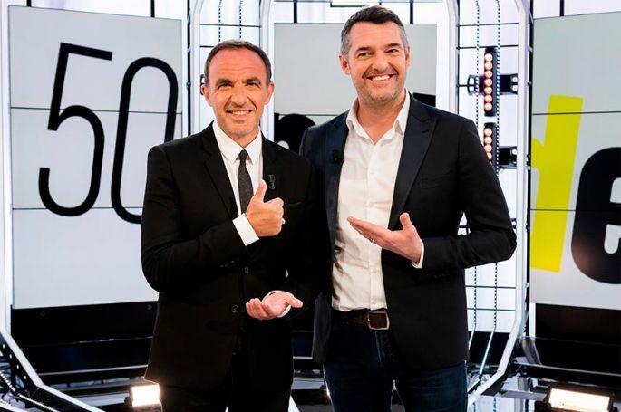 """50mn Inside"" : Nikos Aliagas reçoit Arnaud Ducret samedi 22 février sur TF1"