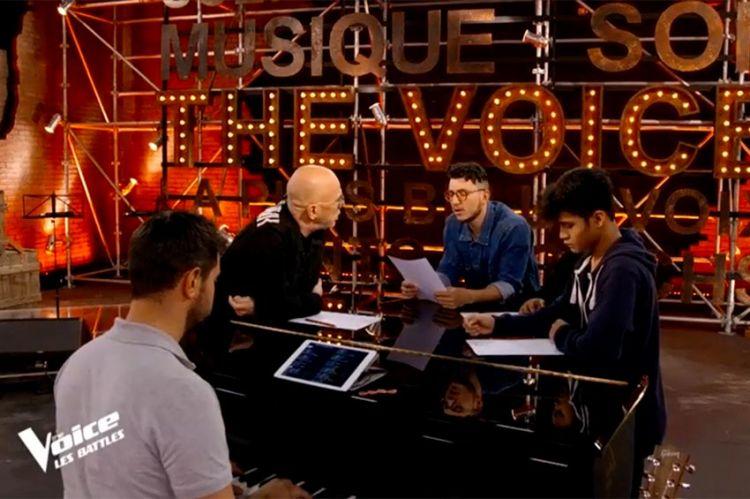 """""""The Voice"""" : le coaching éprouvant de Jonathan, Nathan et Ludy Soa avec Pascal Obispo (vidéo)"""