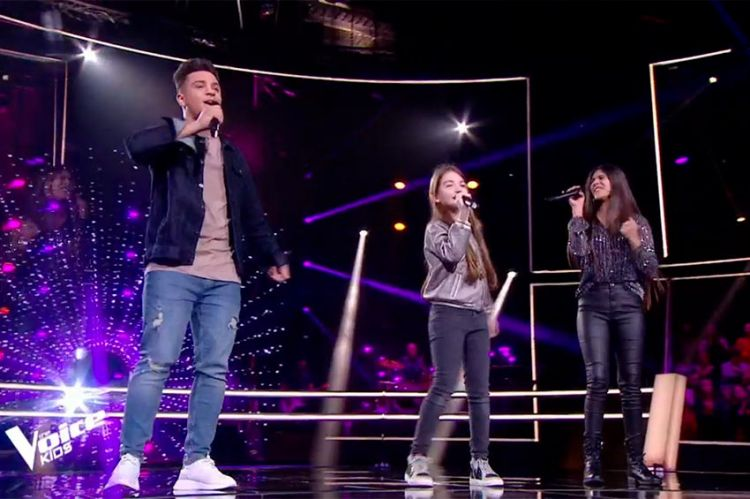 "Replay ""The Voice Kids"" : Alice, Maya & Tchavolo chantent « One Last Time » d'Ariana Grande (vidéo)"
