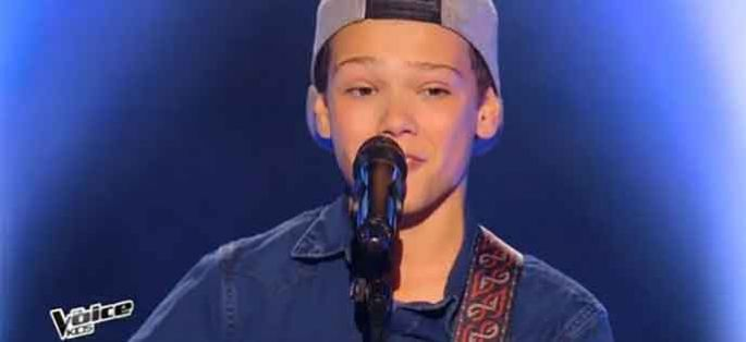 "Replay ""The Voice Kids"" : Marco chante « Riptide » de Vance Joy (vidéo)"