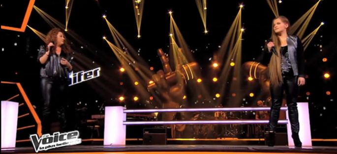 "Replay ""The Voice"" : la battle entre Emma & Jacynthe sur « Les amants d'un jour » d'Edith piaf (vidéo)"