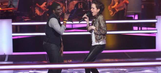 "Vidéo Replay ""The Voice"" : regardez la Battle entre Sean et Rachel Claudio"
