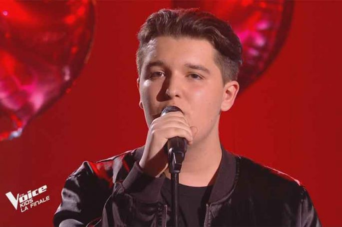 """Replay """"The Voice Kids"""" : Philippe chante « L'envie d'aimer » de Daniel Levi (vidéo)"""