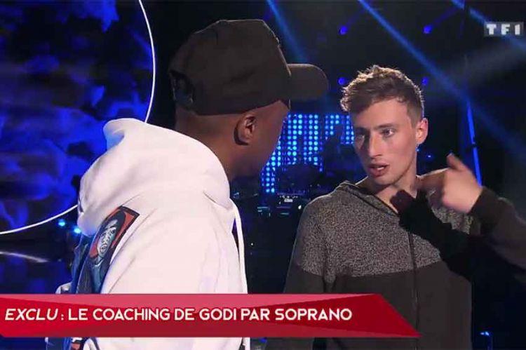 """The Voice"" : Soprano coache Godi pour son K.O. sur un titre de... Soprano ! (vidéo)"