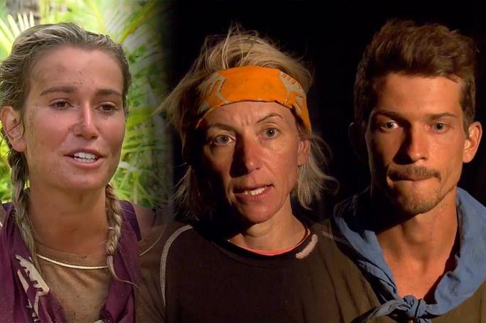 """""""Koh-Lanta : les 4 terres"""" : Diane, Estelle & Mathieu éliminés, leurs réactions après le conseil (vidéo)"""