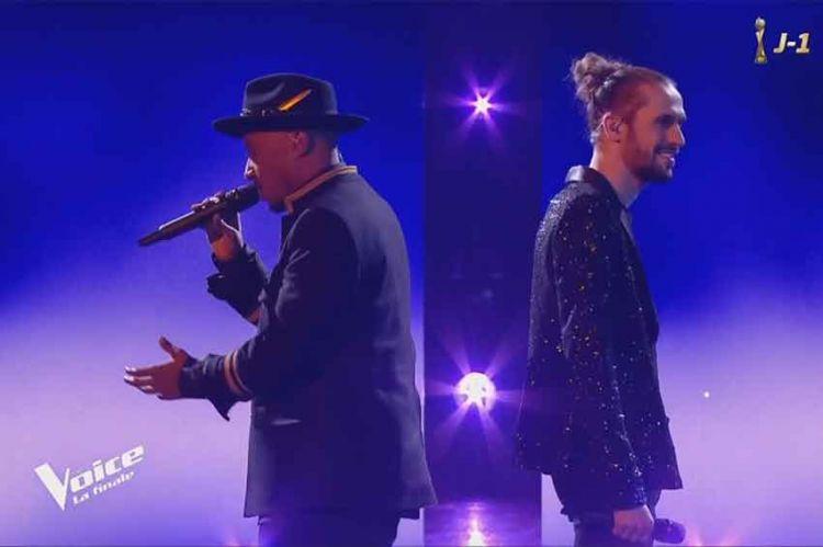 """Replay """"The Voice"""" : Clément & Soprano « Tous les cris, les SOS » de Daniel Balavoine en finale (vidéo)"""