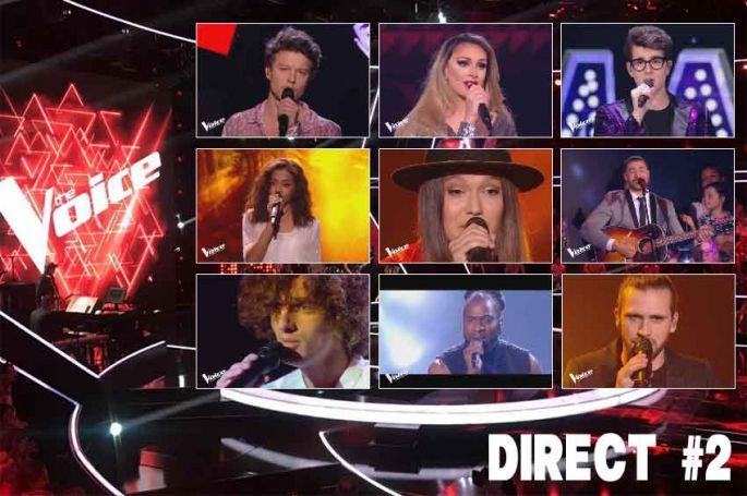 """Replay """"The Voice"""" samedi 25 mai : voici les 12 prestations du 2ème Grand Show en direct (vidéo)"""