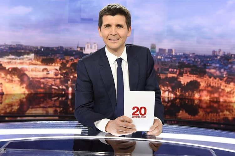 André Dussollier et Jenifer invités de Thomas Sotto au JT de 20H de France 2 ce week-end