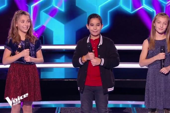 "Replay ""The Voice Kids"" : battle Elodie, Maëlyss & Ismaël sur « I'll be there » des Jackson 5 (vidéo)"