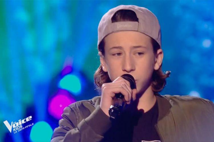 "Replay ""The Voice Kids"" : Esteban chante « La pluie » d'Orelsan (vidéo)"
