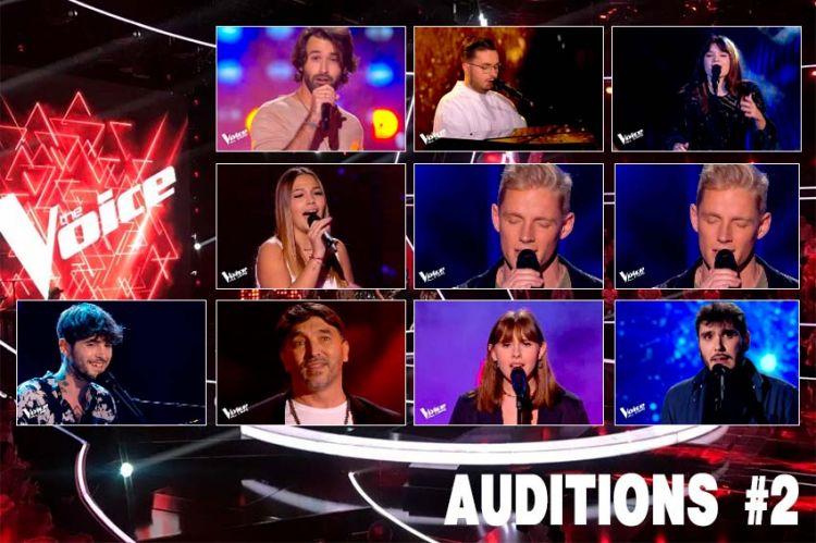 """Replay """"The Voice"""" samedi 18 septembre : voici les 10 talents sélectionnés (vidéo)"""