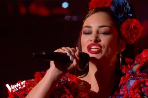 "Replay ""The Voice"" : Nessa chante « La Isla Bonita » de Madonna (vidéo)"