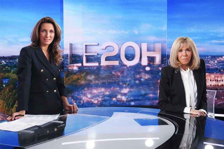 Brigitte Macron suivie par 8,3 millions de téléspectateurs au 20H de TF1 dimanche soir (vidéo)