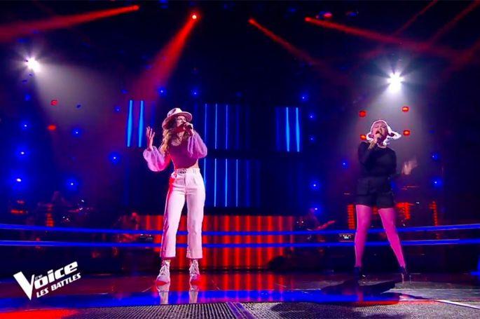 "Replay ""The Voice"" : Camille & Niki Black chantent « Try » de Pink (vidéo)"