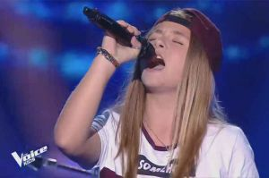 "Replay ""The Voice Kids"" : Justine chante « Born this way » de Lady Gaga (vidéo)"