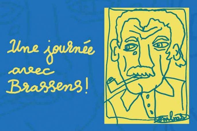 """""""Une journée avec Brassens"""" : le centenaire de sa naissance célébré sur France 3 jeudi 21 octobre"""