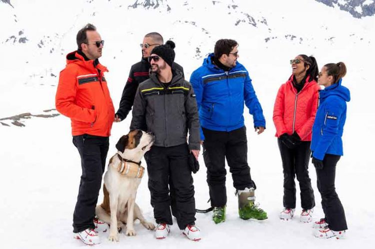 Les touristes en mission haute montage avec Arthur, vendredi 28 décembre sur TF1