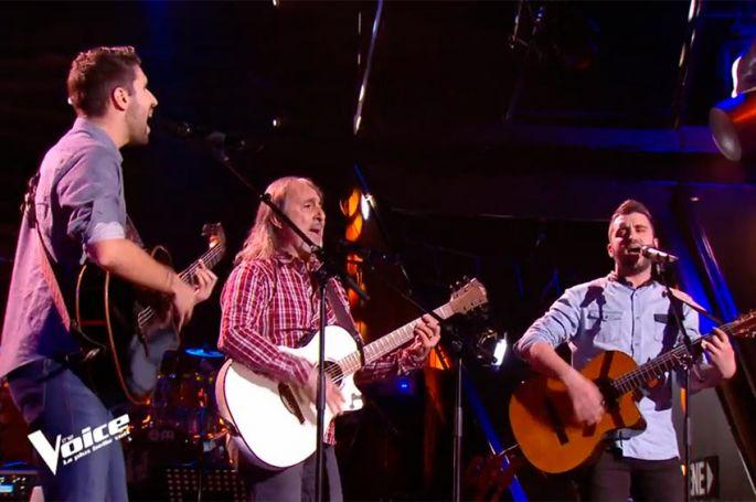 "Replay ""The Voice"" : la Rafa Mia chante « Clandestino » de Manu Chao (vidéo)"