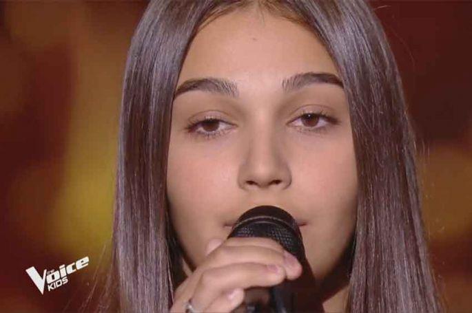 "Replay ""The Voice Kids"" : Manon chante « Writing's on the wall » de Sam Smith (vidéo)"