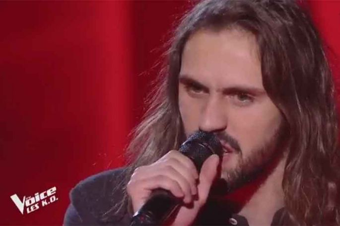 """Replay """"The Voice"""" : Clément chante « J'étais là » de Zazie (vidéo)"""