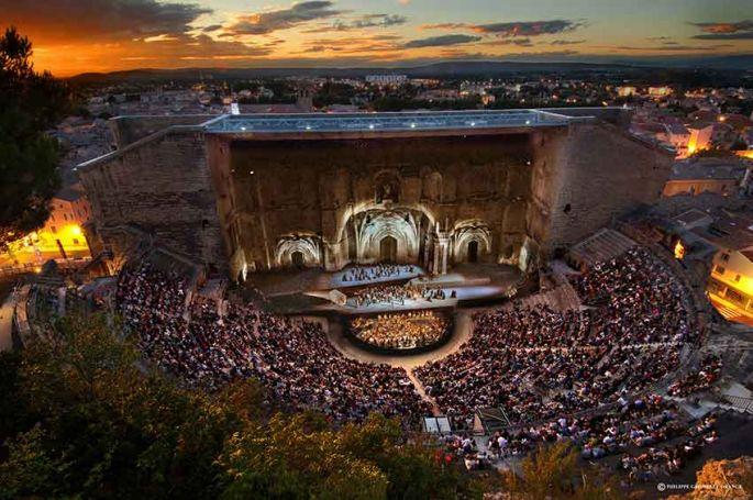 Chorégies d'Orange : Nuit espagnole avec Plácido Domingo & 8ème symphonie de Mahler sur France 5